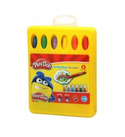 Play-Doh Crayon Jel Mum Boya 6 Renk