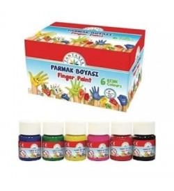 Fantasia Parmak Boya 20 Ml x 6 Renk