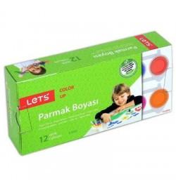 Lets Parmak Boyası 12 Renk - L-5512