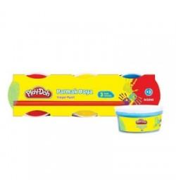 Play-Doh 3 Renk Parmak Boyası 40ml.