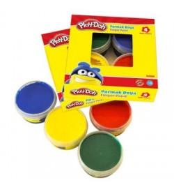 Play-Doh 4 Renk Parmak Boyası 50ml