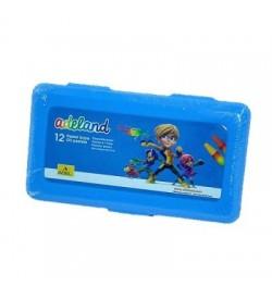 Adeland Pastel Boya 12 Renk Pp Kutu Mavi 12 Renk