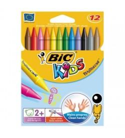 Bic Silinebilir Pastel 12 Renk Kutu