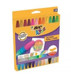 Bic Yağlı Pastel 24 Renk