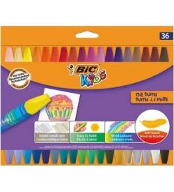 Bıc Yağlı Pastel 36 Renk