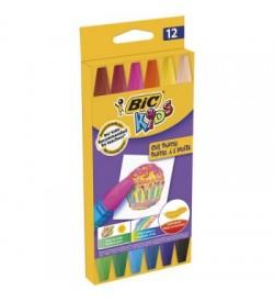 Bic Yağlı Pastel 12 Renk