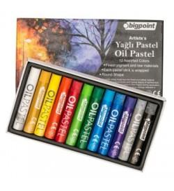 Bigpoint Artistss Yağlı Pastel Boya 12 Renk
