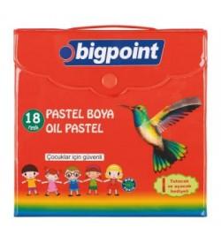 Bigpoint Pastel Boya 18 Renk Çantalı