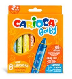 Carioca Jumbo Bebek Yumuşak Pastel Boya 8li