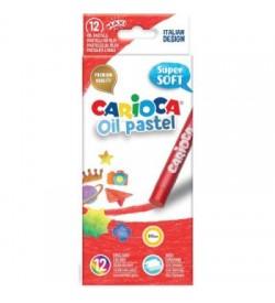 Carioca Yağlı Pastel Boya 12li