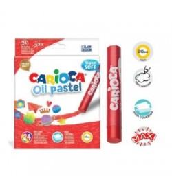 Carioca Yağlı Pastel Boya 24lü