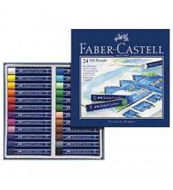 Faber Castel Creative Studio Yağlı Pastel Boya 24 Renk