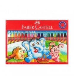 Faber Castell Karton Kutu Pastel Boya 18 Renk