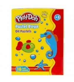Play-Doh Pastel Boya 18 Renk