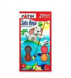 Fatih Sulu Boya 21 Renk