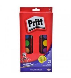 Pritt Sulu Boya Büyük Tablet 21 Renk