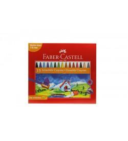 Faber Castel 15 Renk Silinebilir Crayons Boya