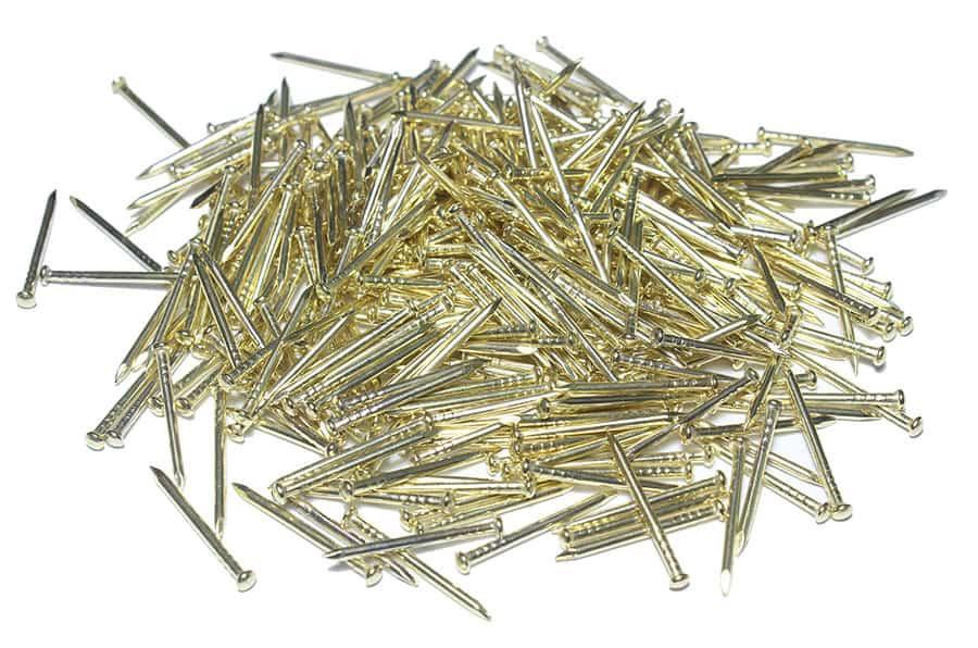 Top Başlı Altın Sarısı Filografi Çivisi 500 gram