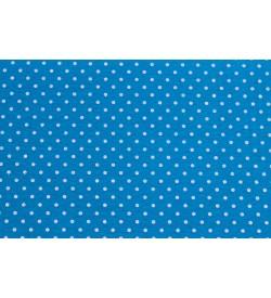 Puantiyeli Mavi Keçe