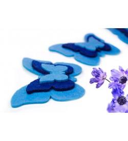 Mavi Keçe Kelebek