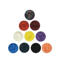 Aren Keçe Yünü Seti 10 Renk 02