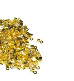 Altın Sarı Deri Kapama 3 mm