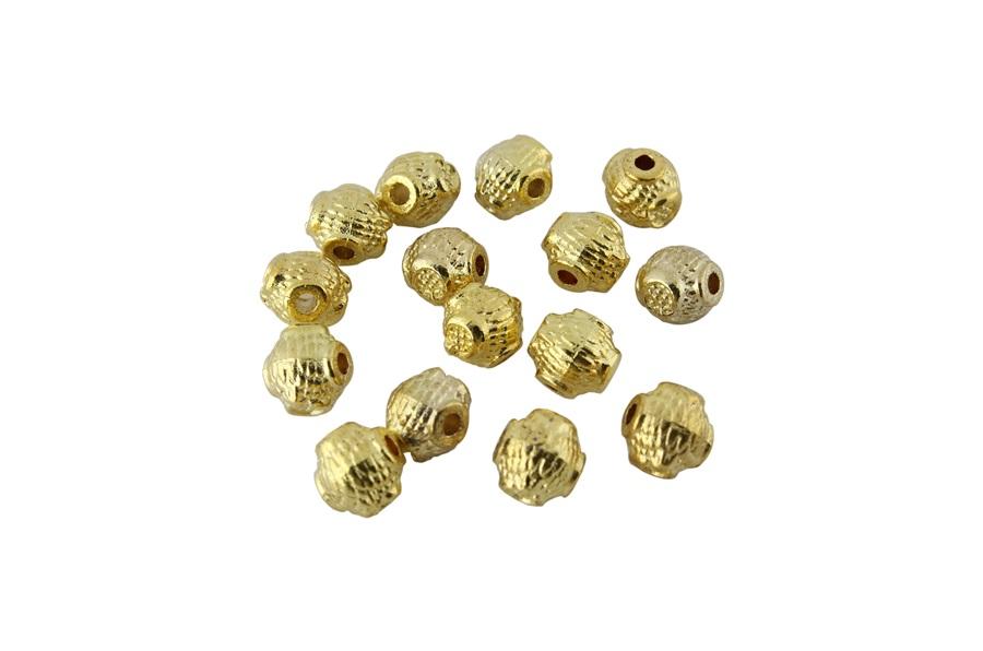 Altın Sarısı Ay Yıldız Metal Ara Aparatı