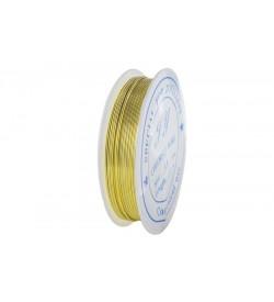Emaye Kaplı Sarı Renk Bakır Tel -0.60