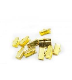Altın Renkli Kurdela Kapama 16x5 mm 20 Adet
