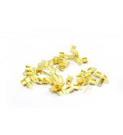 Altın Rengi Deri Kapama 4 mm - 50 gr
