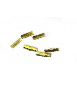 Altın Renkli Kurdela Kapama 10x5 mm 20 Adet