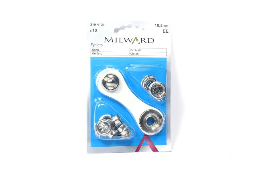 Milward Metal Kuş Gözü Halka ve Çakma Aparatı 10.5 mm