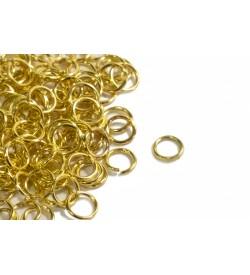 Altın Rengi Halka 5 mm 50 gr