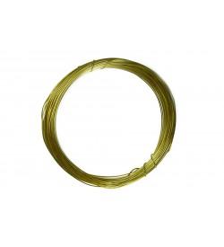 Emaye Kaplı Koyu Sarı Renk Bakır Tel -0.60