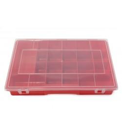 Kırmızı Organizer Boncuk Kutusu Büyük