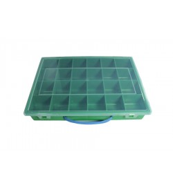 Yeşil Plastik Boncuk ve Hobi Kutusu