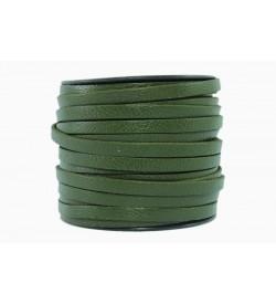Keçi Derisi Asker Yeşili 5mm-1014