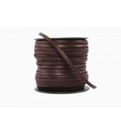Keçi Derisi Koyu Kahverengi 3mm-1003