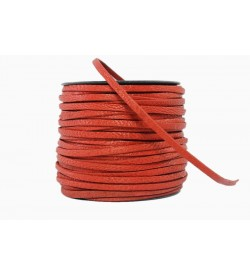Keçi Derisi Kırmızı 3mm-1005