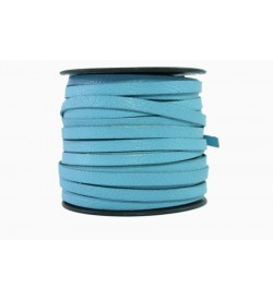 Keçi Derisi Mavi 5mm-1019