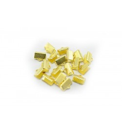 Altın Renkli Kurdela Kapama 8x5 mm 20 Adet