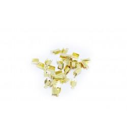 Altın Rengi Deri Kapama 5 mm - 50 gr