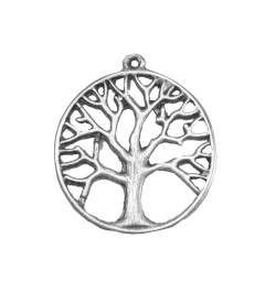 Ağaç Simgeli Kolye Ucu