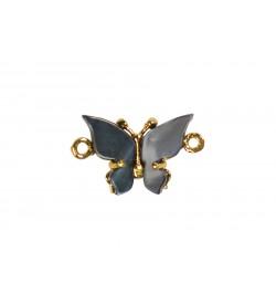 Sedef Taşlı Kelebek Bileklik Aparatı 5443