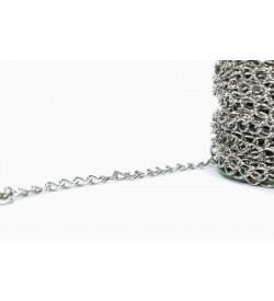 Nikel Rengi Metal Zincir NZ-14