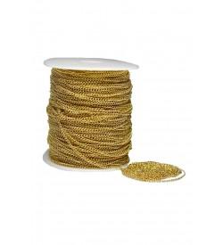 Altın Sarı Renk Metal Zincir  3 metre