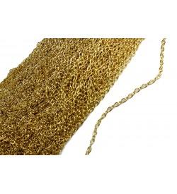 Altın Sarı Forsa Zincir 7 mm