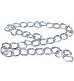 Gümüş Rengi Metal Zincir 01