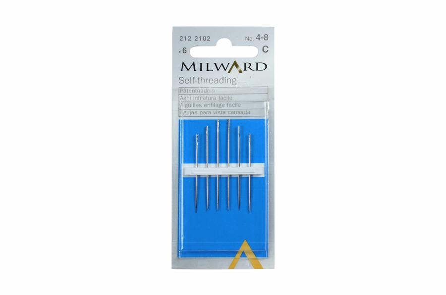 Milward Çelik İplik Geçiren İğne No:4-8
