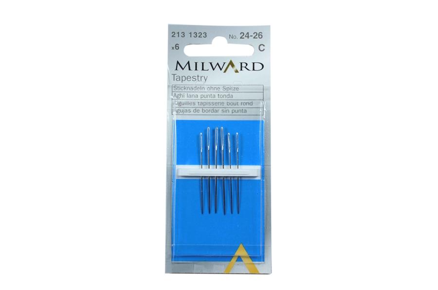 Milward Çelik Kanava İğnesi No:24-26
